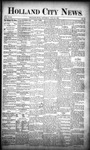 Holland City News, Volume 18, Number 25: July 20, 1889 by Holland City News