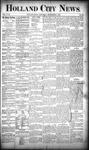 Holland City News, Volume 18, Number 32: September 7, 1889