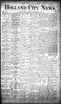 Holland City News, Volume 18, Number 33: September 14, 1889 by Holland City News