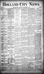 Holland City News, Volume 18, Number 35: September 28, 1889