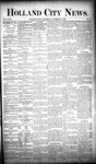 Holland City News, Volume 18, Number 42: November 16, 1889 by Holland City News