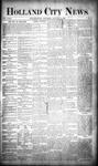 Holland City News, Volume 18, Number 51: January 18, 1890
