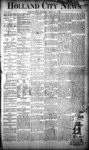 Holland City News, Volume 19, Number 1: February 1, 1890