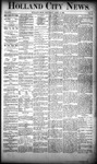 Holland City News, Volume 19, Number 11: April 12, 1890
