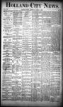 Holland City News, Volume 19, Number 12: April 19, 1890