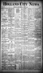Holland City News, Volume 19, Number 18: May 31, 1890