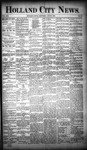 Holland City News, Volume 19, Number 19: June 7, 1890