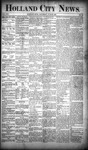 Holland City News, Volume 19, Number 22: June 28, 1890