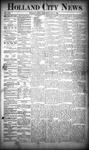 Holland City News, Volume 19, Number 23: July 5, 1890
