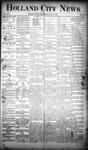 Holland City News, Volume 19, Number 25: July 19, 1890
