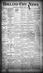 Holland City News, Volume 19, Number 28: August 9, 1890