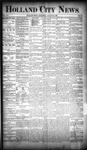 Holland City News, Volume 19, Number 30: August 23, 1890 by Holland City News