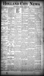 Holland City News, Volume 19, Number 31: August 30, 1890