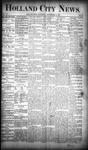 Holland City News, Volume 19, Number 33: September 13, 1890 by Holland City News
