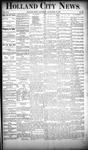 Holland City News, Volume 19, Number 35: September 27, 1890 by Holland City News