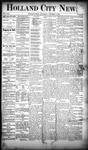 Holland City News, Volume 19, Number 37: October 11, 1890