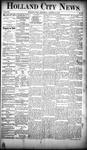 Holland City News, Volume 19, Number 38: October 18, 1890