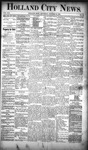 Holland City News, Volume 19, Number 39: October 25, 1890 by Holland City News
