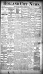 Holland City News, Volume 19, Number 39: October 25, 1890
