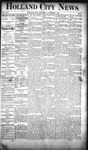 Holland City News, Volume 19, Number 41: November 8, 1890 by Holland City News
