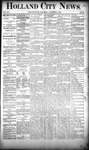 Holland City News, Volume 19, Number 42: November 15, 1890