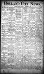 Holland City News, Volume 19, Number 44: November 29, 1890 by Holland City News