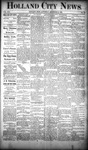 Holland City News, Volume 19, Number 46: December 13, 1890
