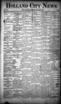 Holland City News, Volume 19, Number 52: January 24, 1891