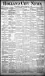 Holland City News, Volume 20, Number 4: February 21, 1891