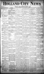 Holland City News, Volume 20, Number 7: March 14, 1891