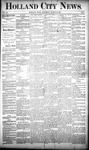 Holland City News, Volume 20, Number 9: March 28, 1891