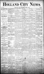 Holland City News, Volume 20, Number 10: April 4, 1891
