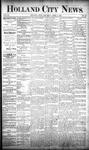 Holland City News, Volume 20, Number 12: April 18, 1891
