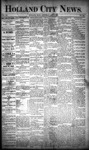 Holland City News, Volume 20, Number 15: May 9, 1891