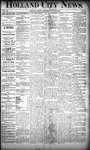 Holland City News, Volume 20, Number 20: June 13, 1891