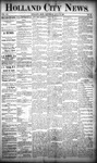 Holland City News, Volume 20, Number 25: July 18, 1891 by Holland City News