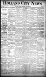 Holland City News, Volume 20, Number 26: July 25, 1891 by Holland City News