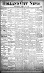 Holland City News, Volume 20, Number 28: August 8, 1891 by Holland City News