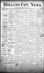 Holland City News, Volume 20, Number 33: September 12, 1891 by Holland City News