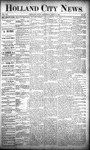 Holland City News, Volume 20, Number 34: September 19, 1891 by Holland City News