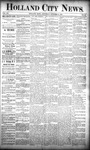 Holland City News, Volume 20, Number 40: October 31, 1891 by Holland City News