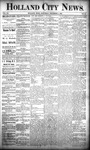Holland City News, Volume 20, Number 45: December 5, 1891 by Holland City News