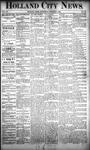 Holland City News, Volume 20, Number 49: January 2, 1892
