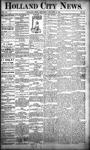 Holland City News, Volume 20, Number 51: January 16, 1892