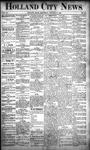Holland City News, Volume 20, Number 52: January 23, 1892