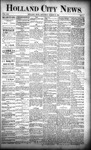 Holland City News, Volume 21, Number 7: March 12, 1892