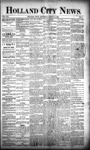 Holland City News, Volume 21, Number 8: March 19, 1892