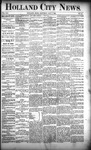 Holland City News, Volume 21, Number 15: May 7, 1892
