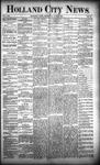 Holland City News, Volume 21, Number 20: June 11, 1892