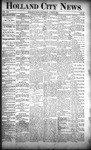 Holland City News, Volume 21, Number 22: June 25, 1892
